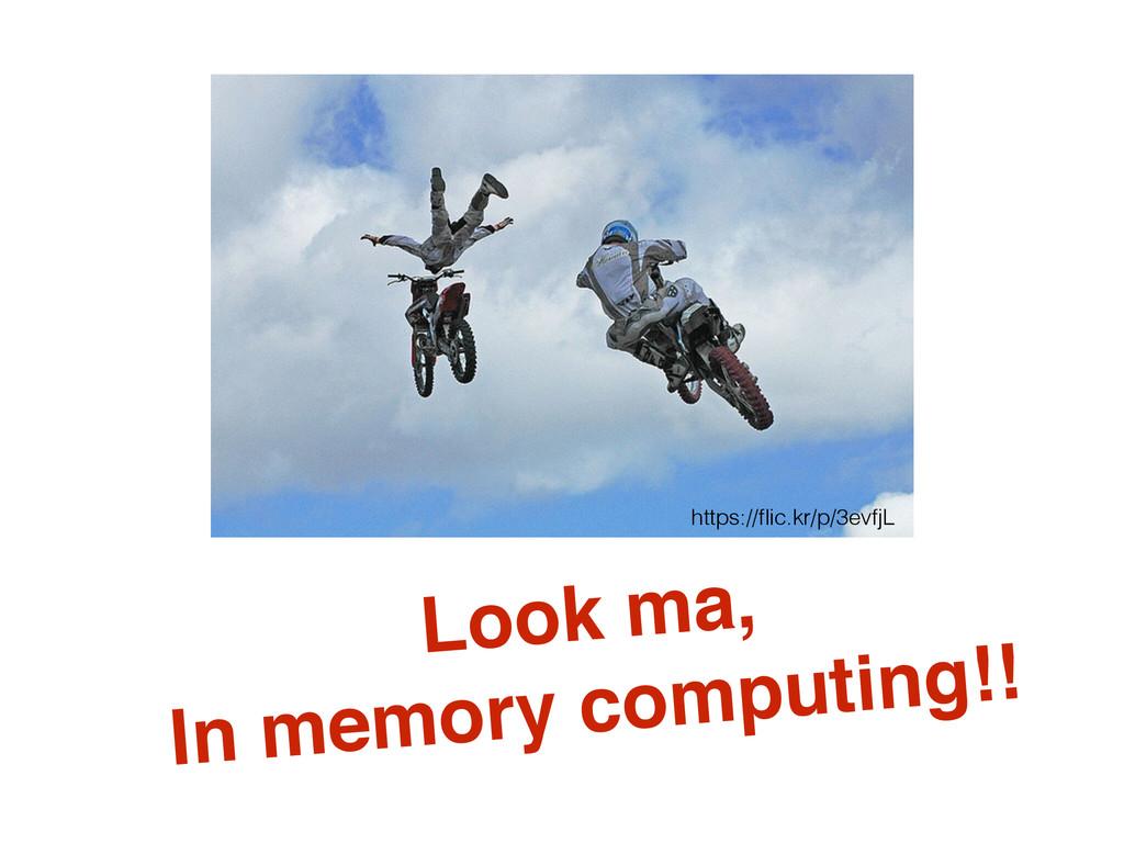 Look ma,! In memory computing!! https://flic.kr/...