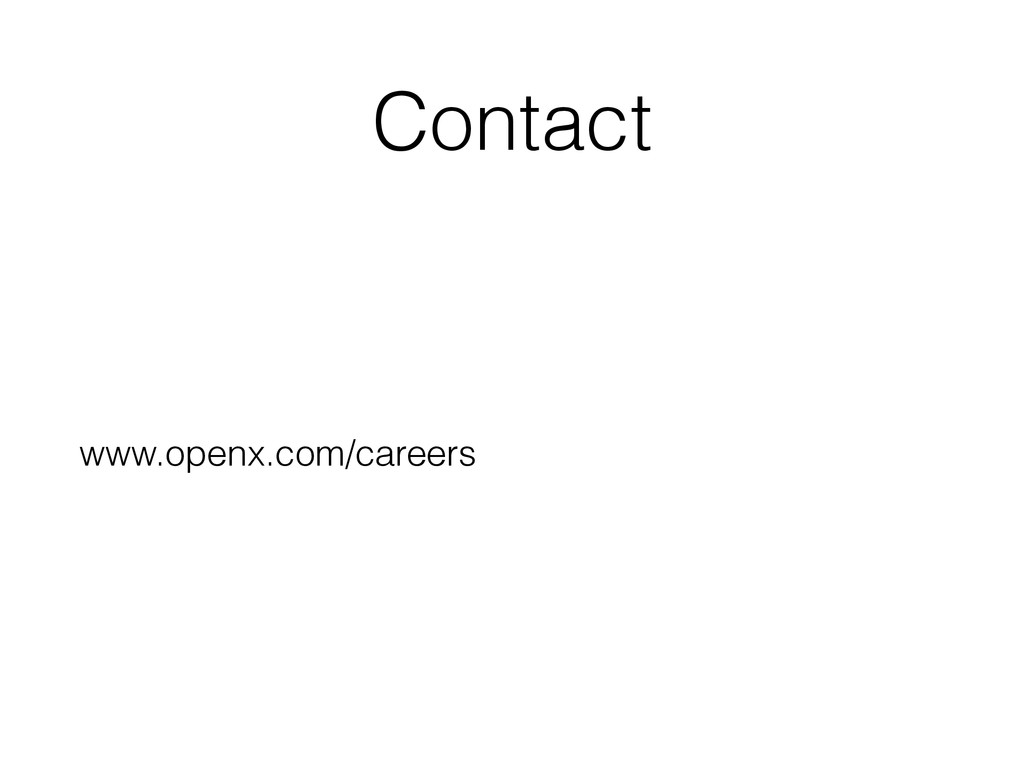 Contact www.openx.com/careers