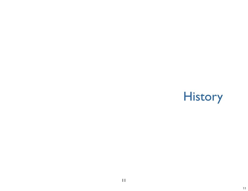History 11 11