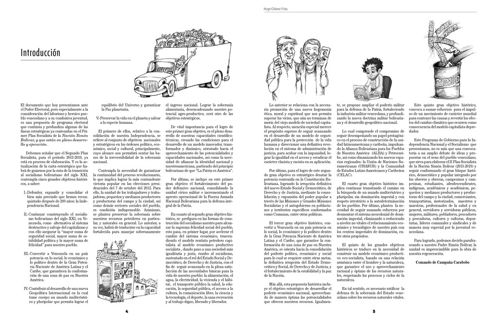 4 Hugo Chávez Frías 5 Introducción El documento...