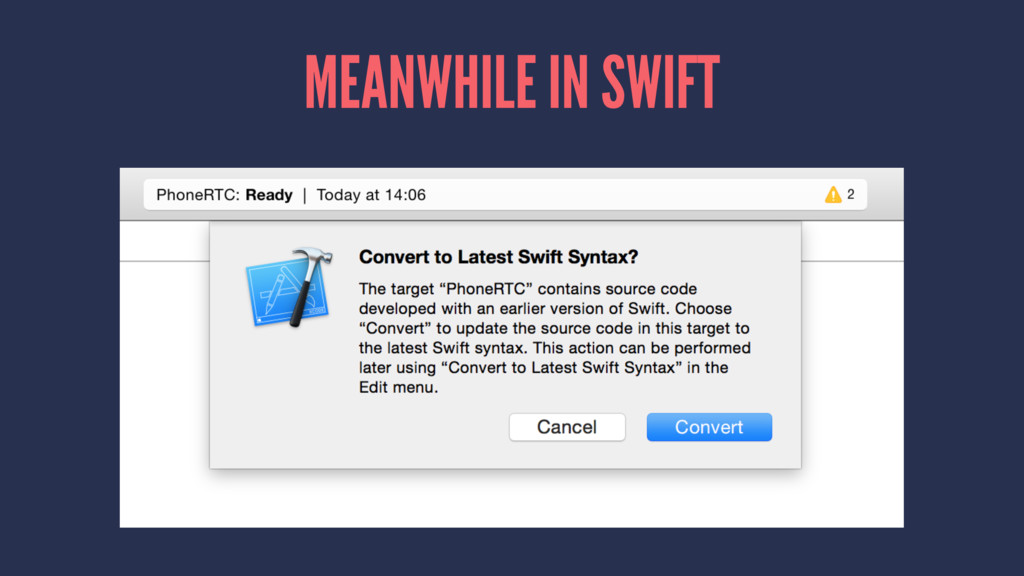 MEANWHILE IN SWIFT
