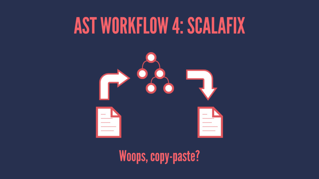 AST WORKFLOW 4: SCALAFIX Woops, copy-paste?