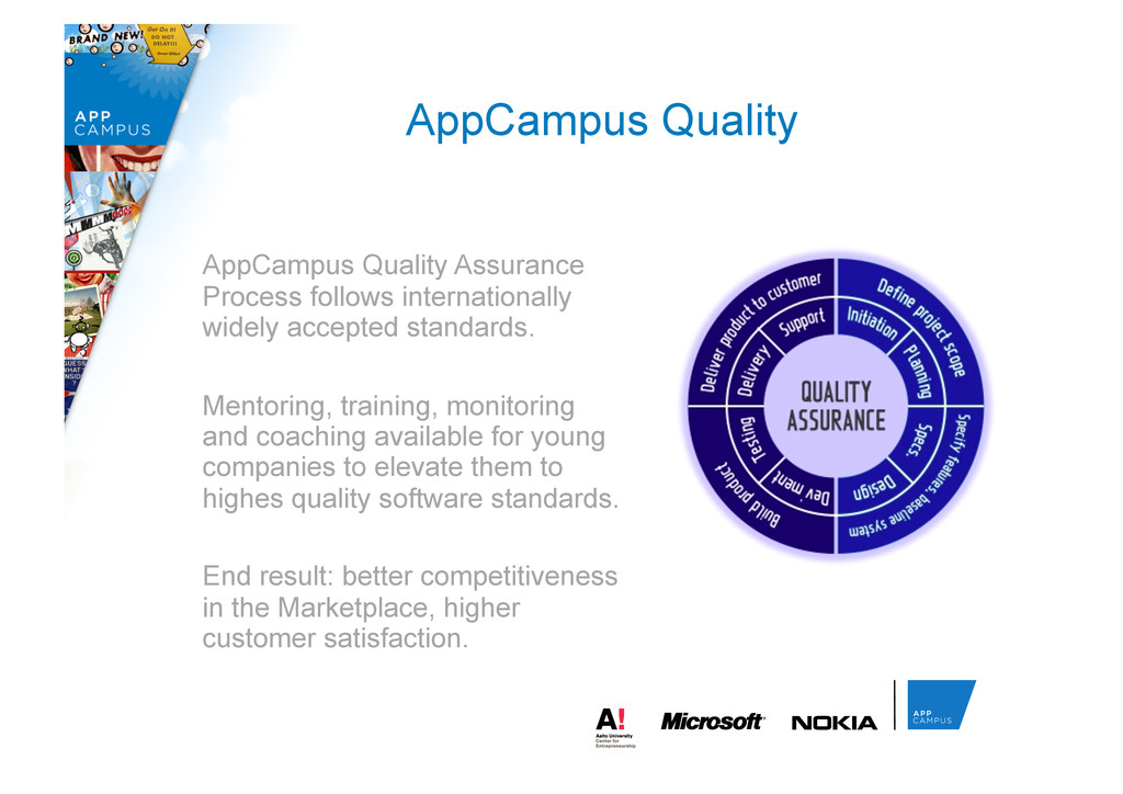 AppCampus Quality Assurance Process follows int...