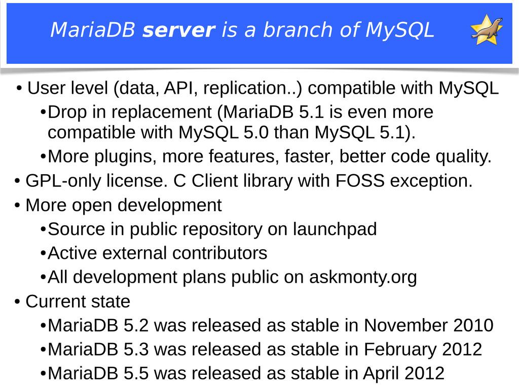Notice: MySQL is a registered trademark of Sun ...