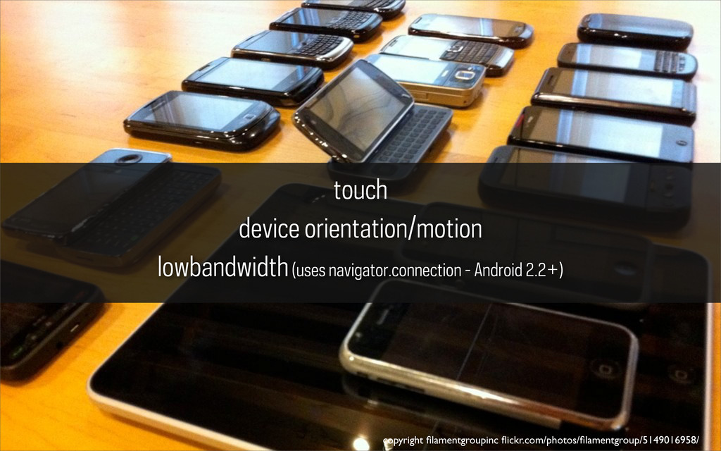 touch device orientation/motion lowbandwidth (u...