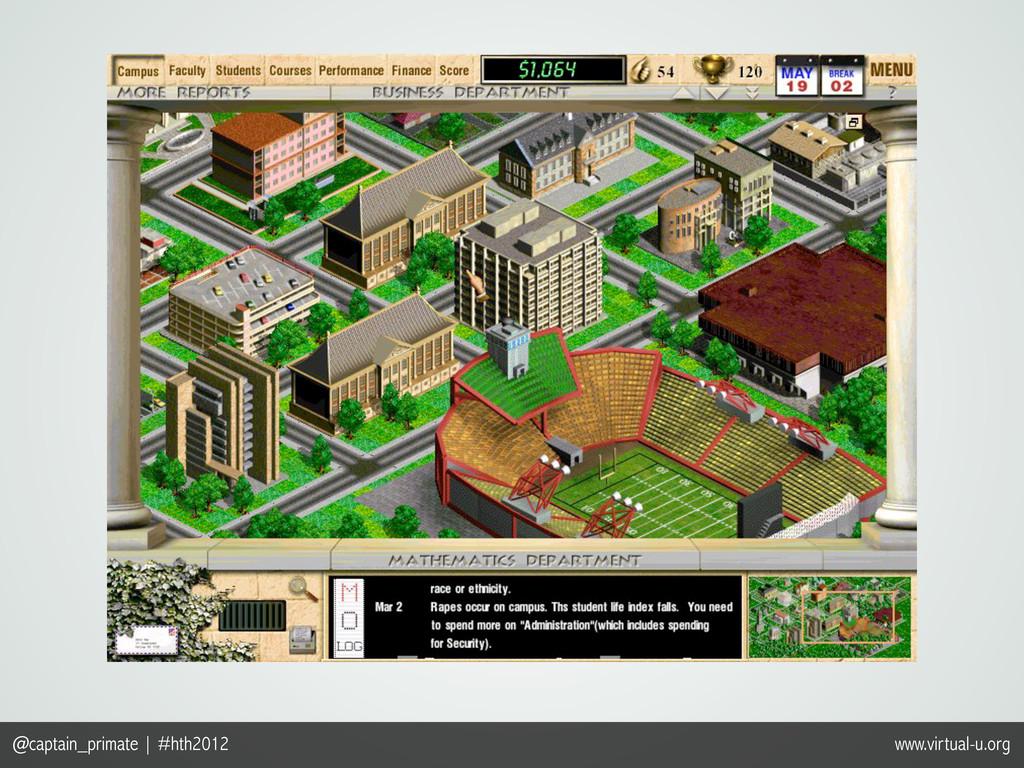 @captain_primate | #hth2012 www.virtual-u.org