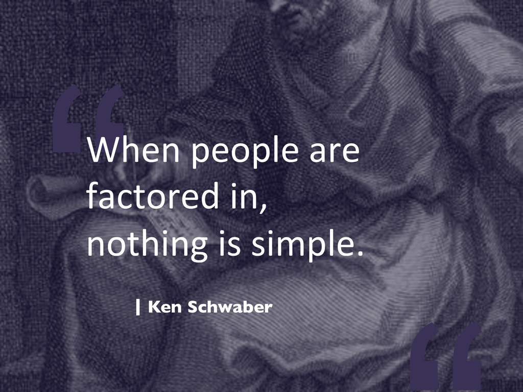 """""""When people are  factored in, ..."""