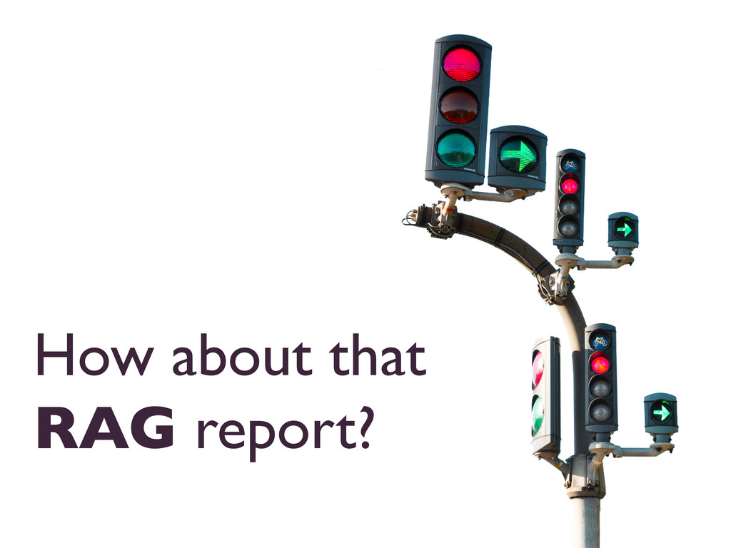 How about that RAG report?