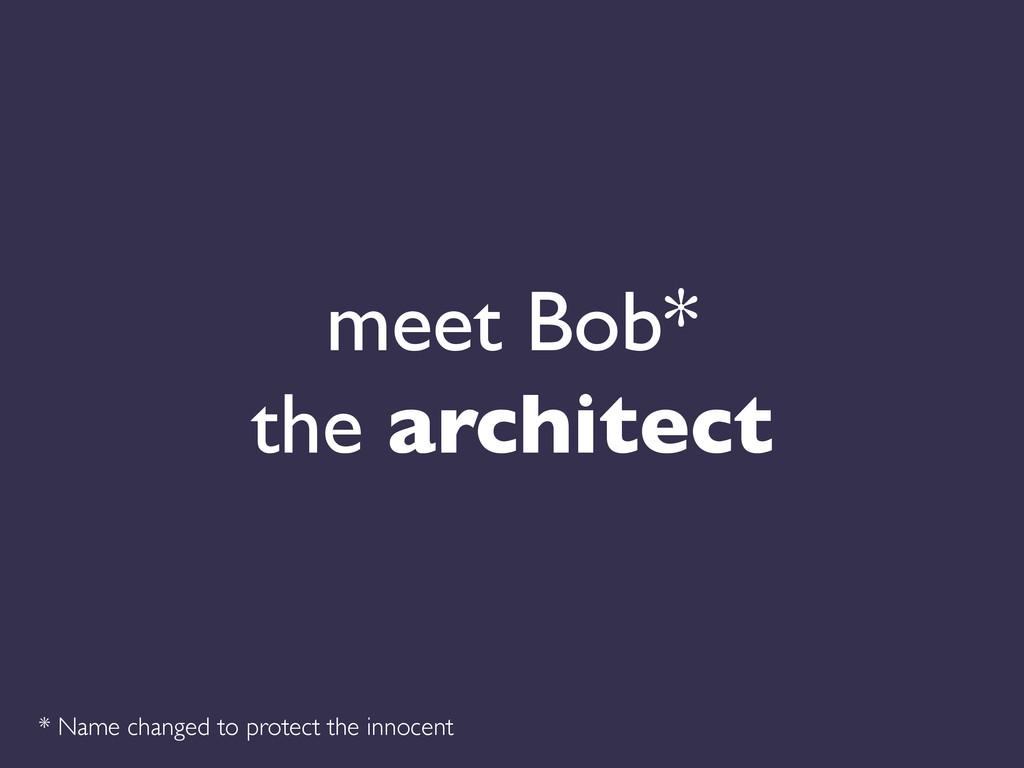 meet Bob*