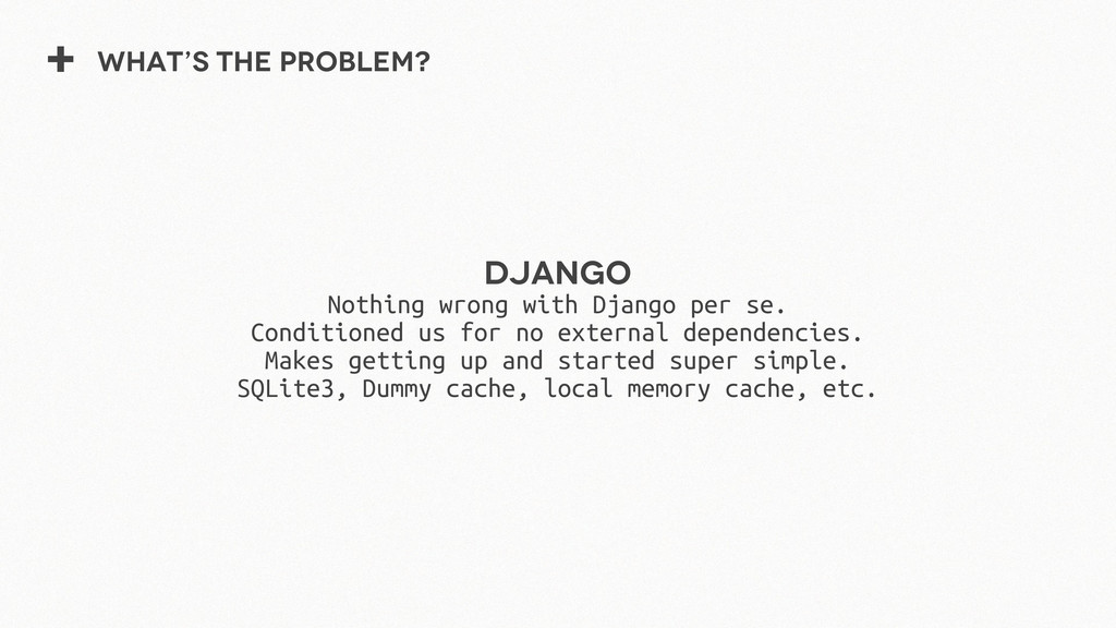 + What's the problem? Django Nothing wrong with...