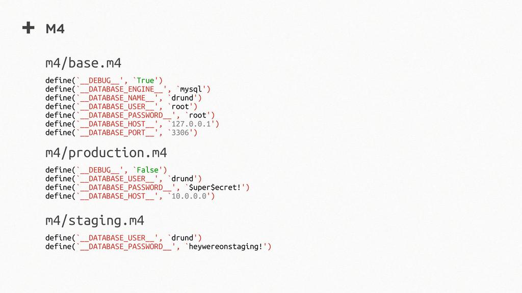 + m4 define(`__DEBUG__', `True') define(`__DATA...