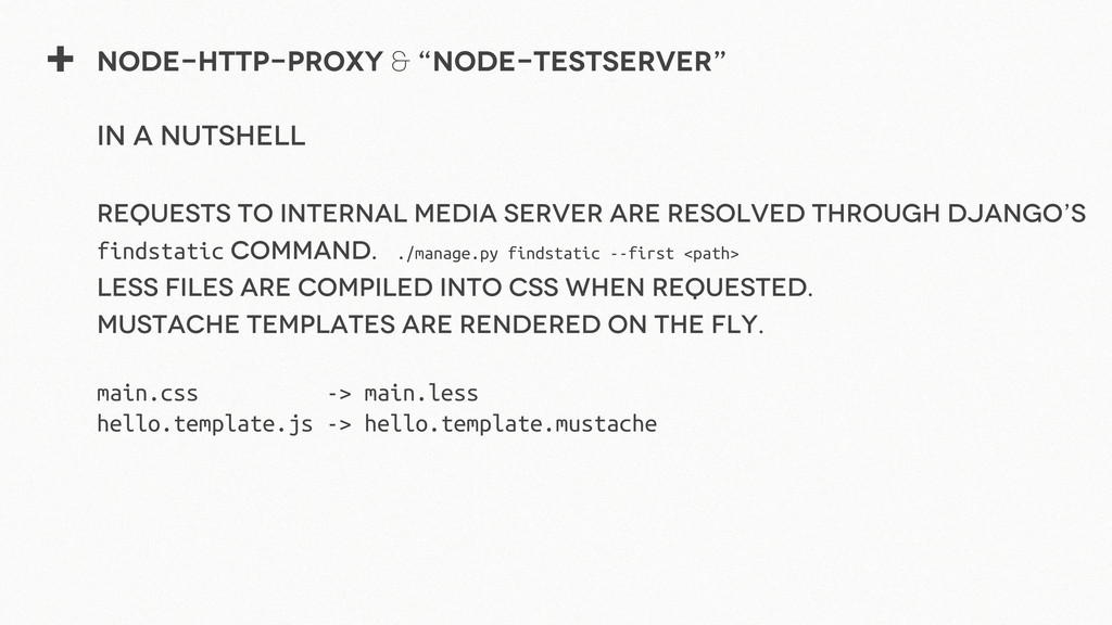 "+ Node-http-proxy & ""node-testserver"" in a nuts..."