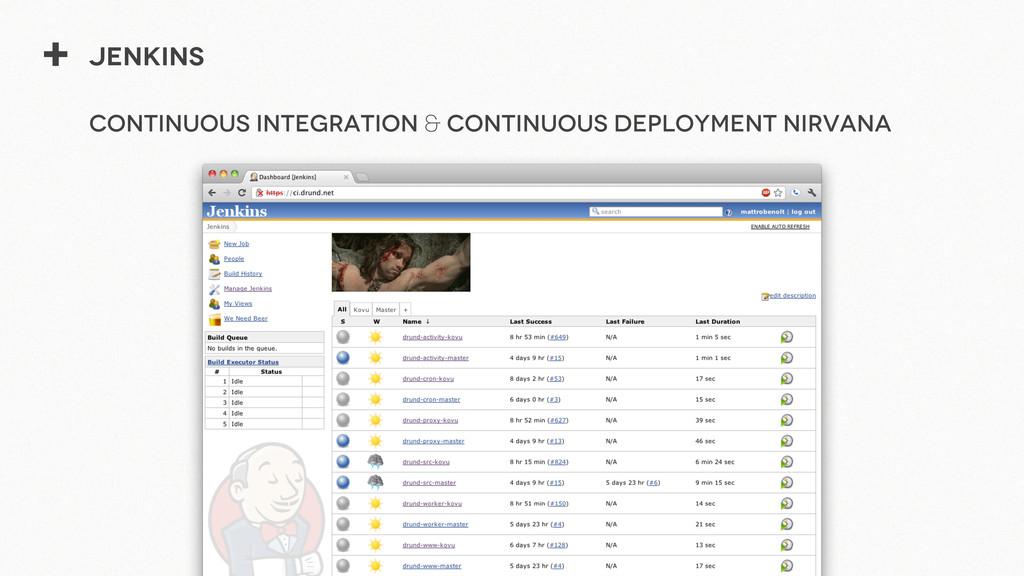 + Jenkins Continuous Integration & Continuous D...