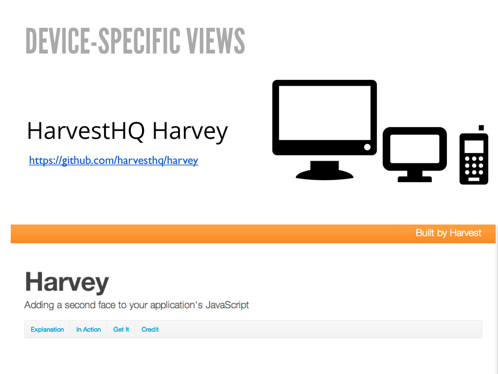 HarvestHQ Harvey DEVICE-SPECIFIC VIEWS https://...