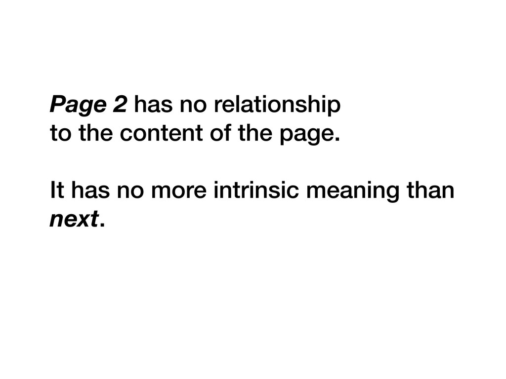 Page 2 has no relationship to the content of th...
