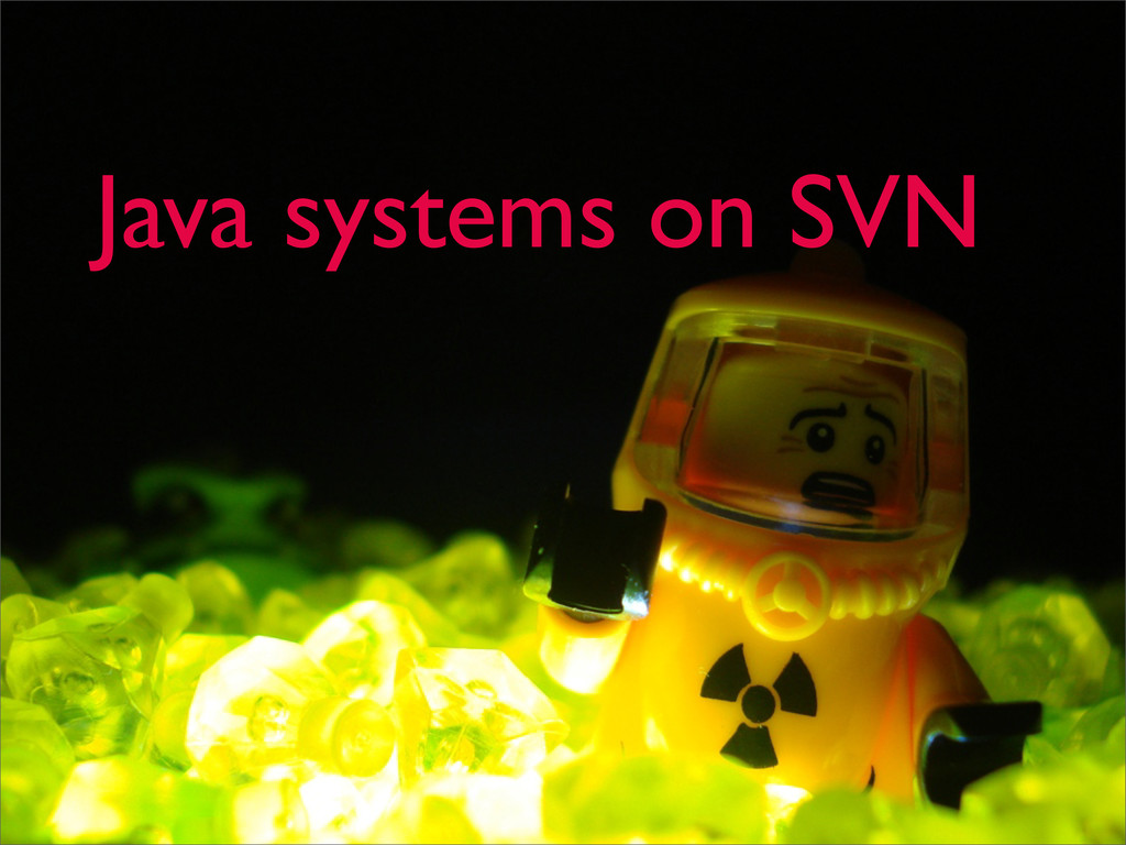 Java systems on SVN