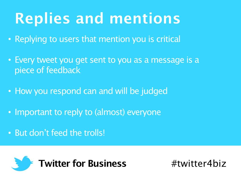 13/06/2012  Twitter for Business #twitter4b...