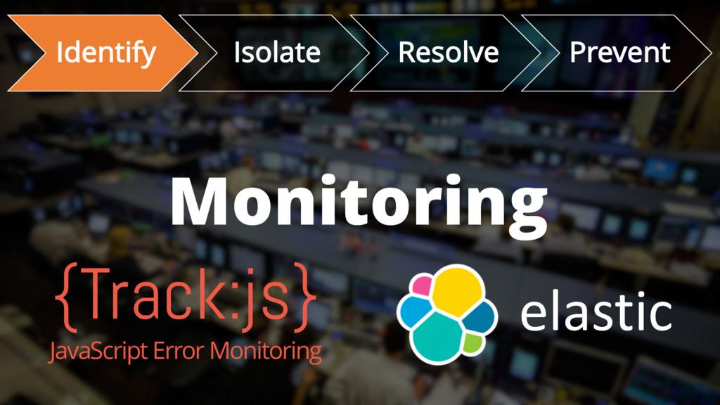 Identify Isolate Resolve Prevent Monitoring {Tr...