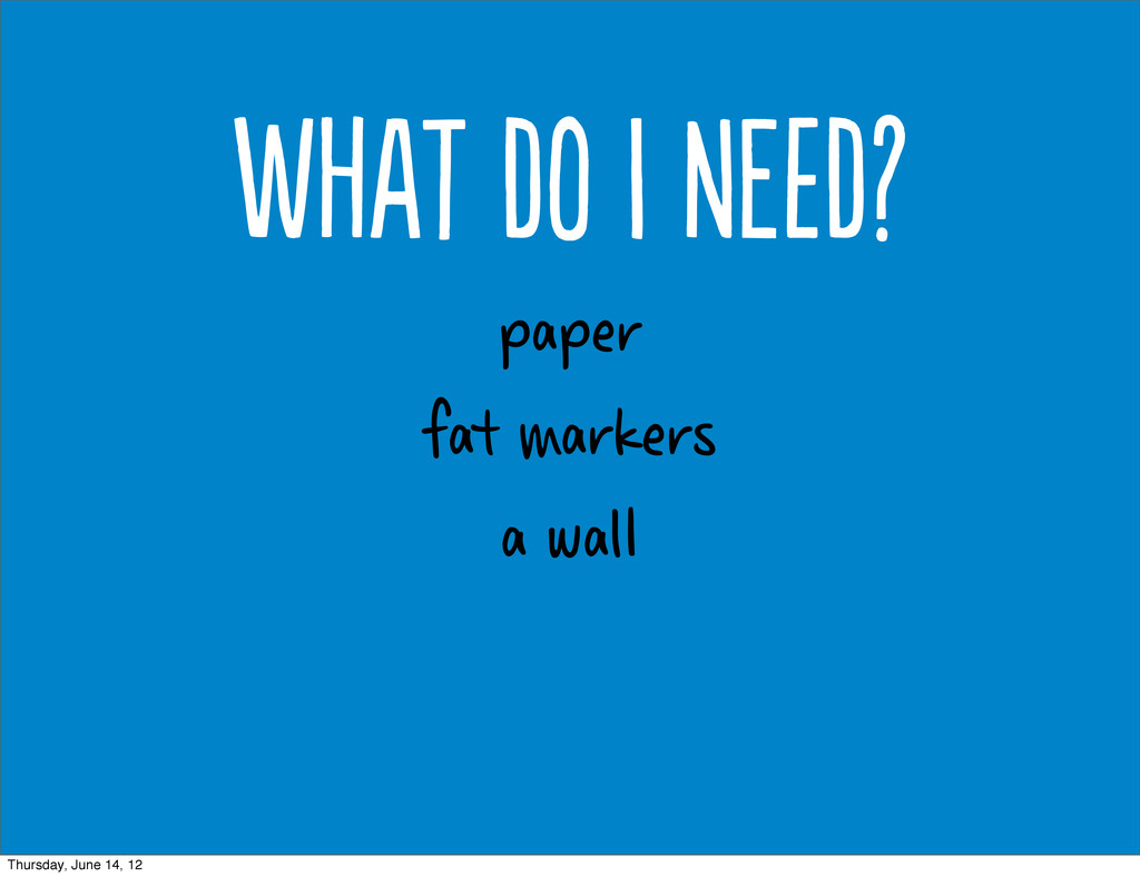 paper fat markers a wal Wt d  Nd? Thursd...