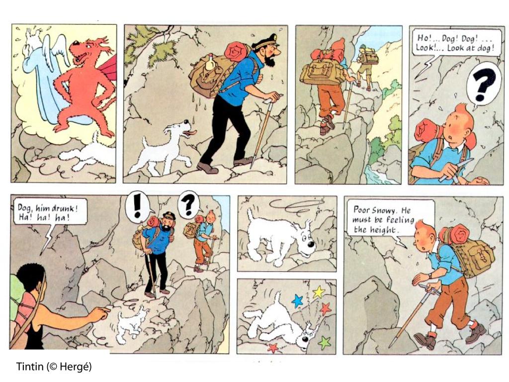 Tintin (© Hergé)