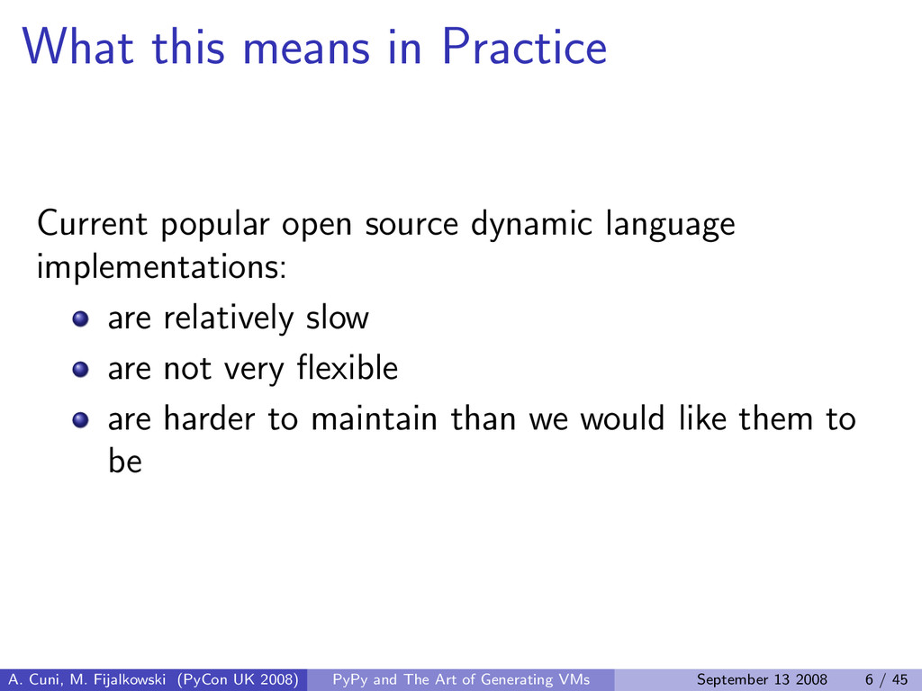 What this means in Practice Current popular ope...