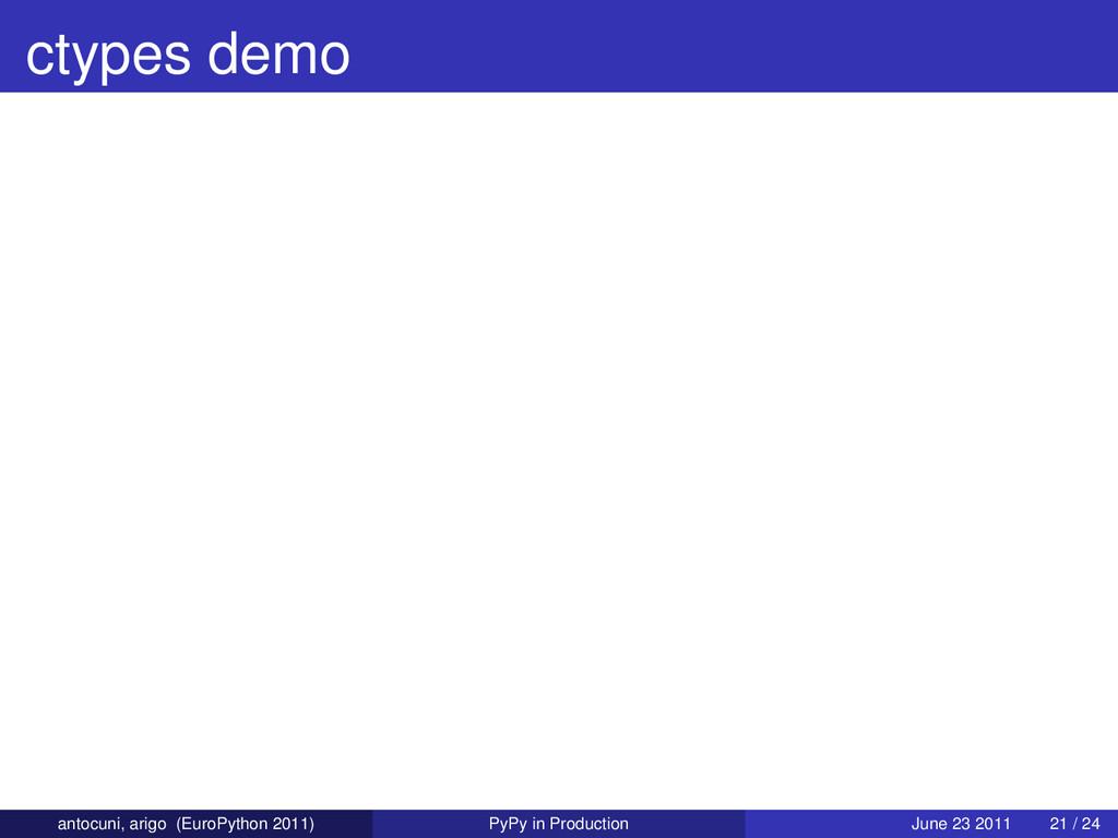 ctypes demo antocuni, arigo (EuroPython 2011) P...