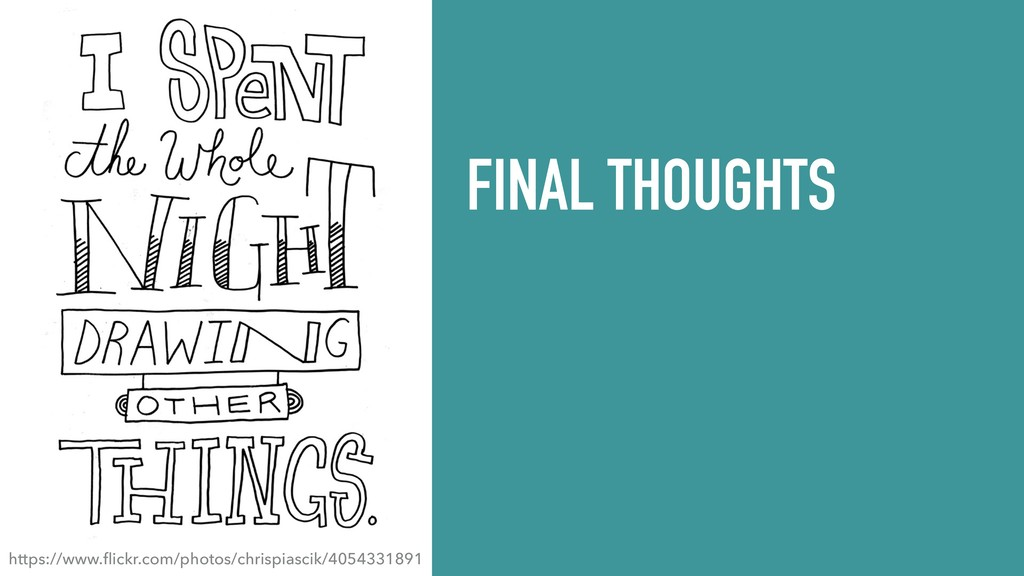 FINAL THOUGHTS https://www.flickr.com/photos/chr...