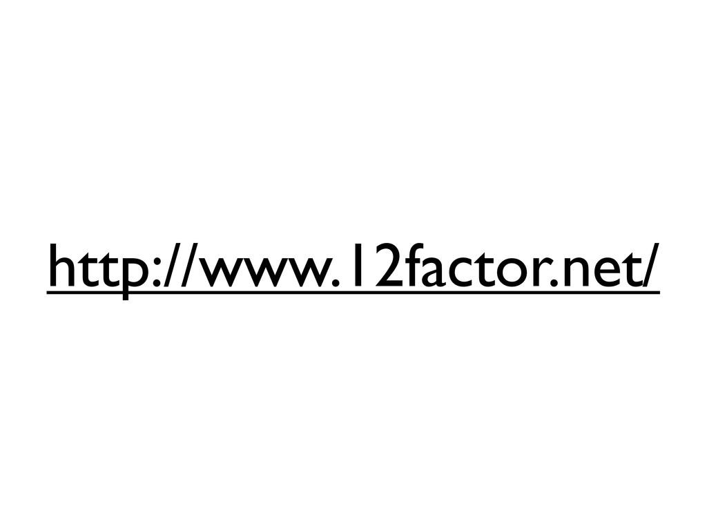 http://www.12factor.net/
