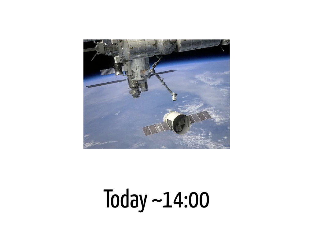 Today ~14:00