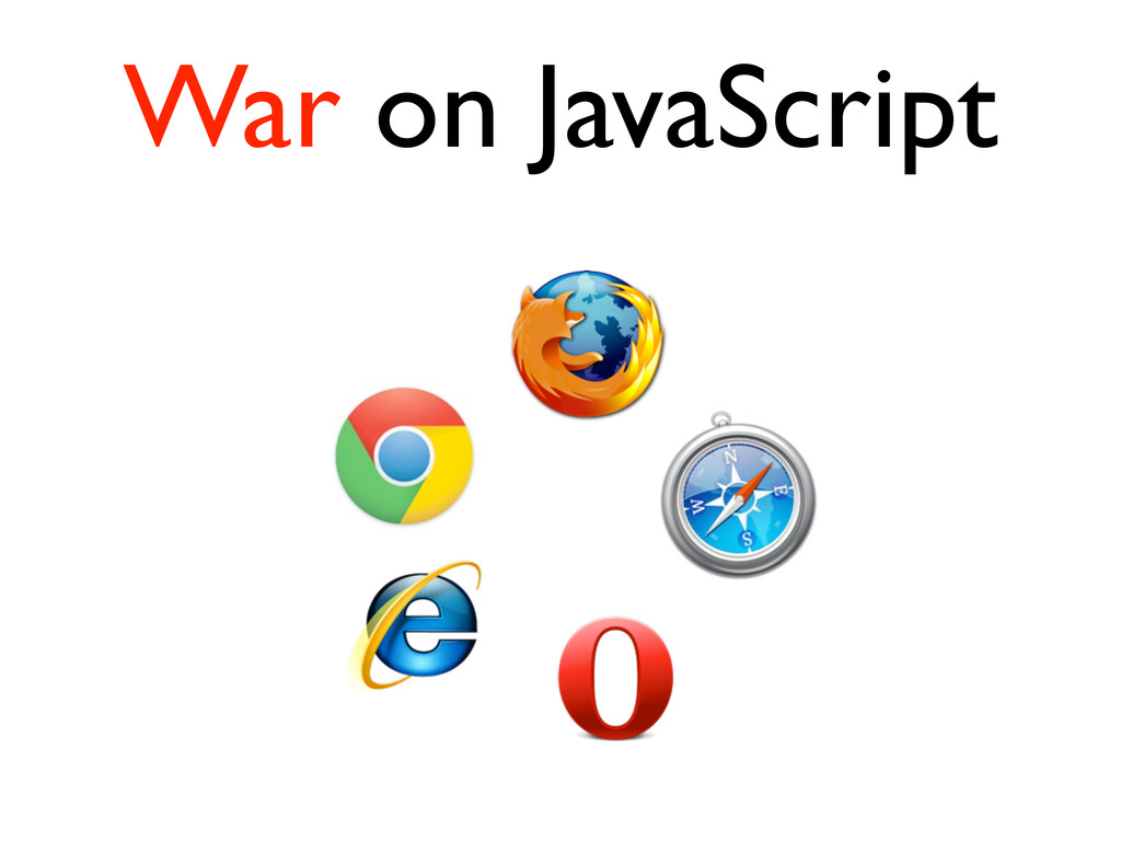 War on JavaScript