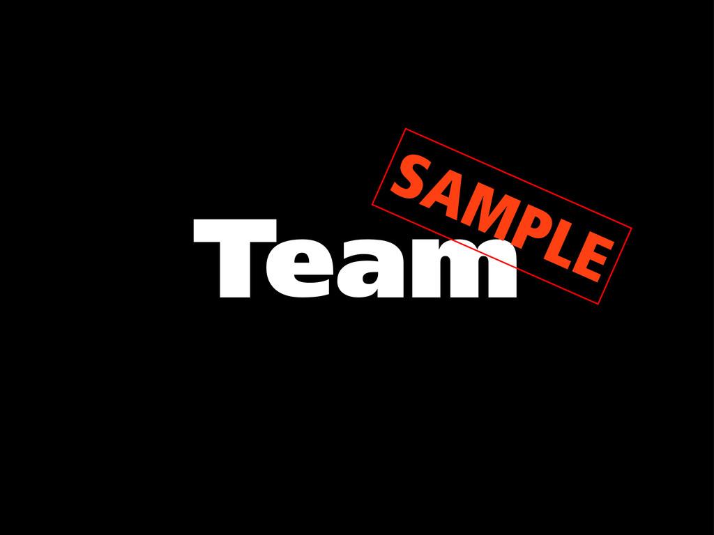 Team SAMPLE