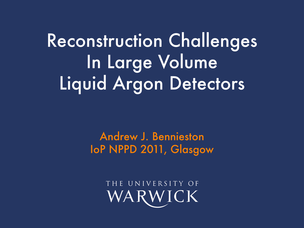 Title Author Date Reconstruction Challenges In ...