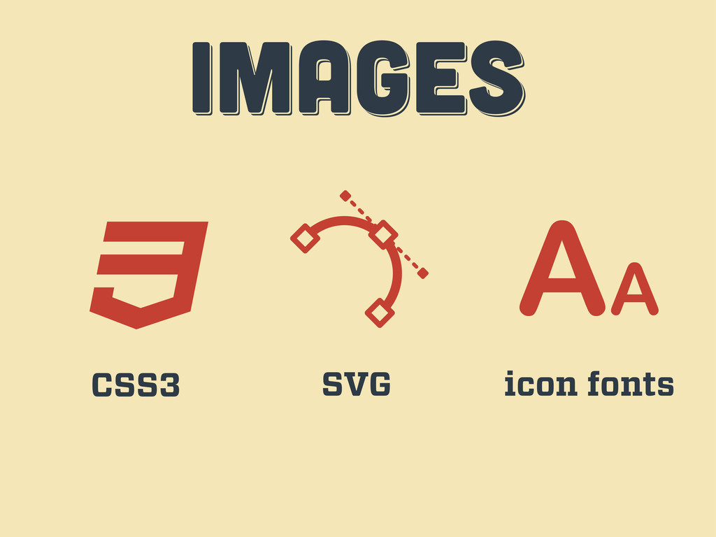 IMAGES IMAGES images CSS3 SVG icon fonts
