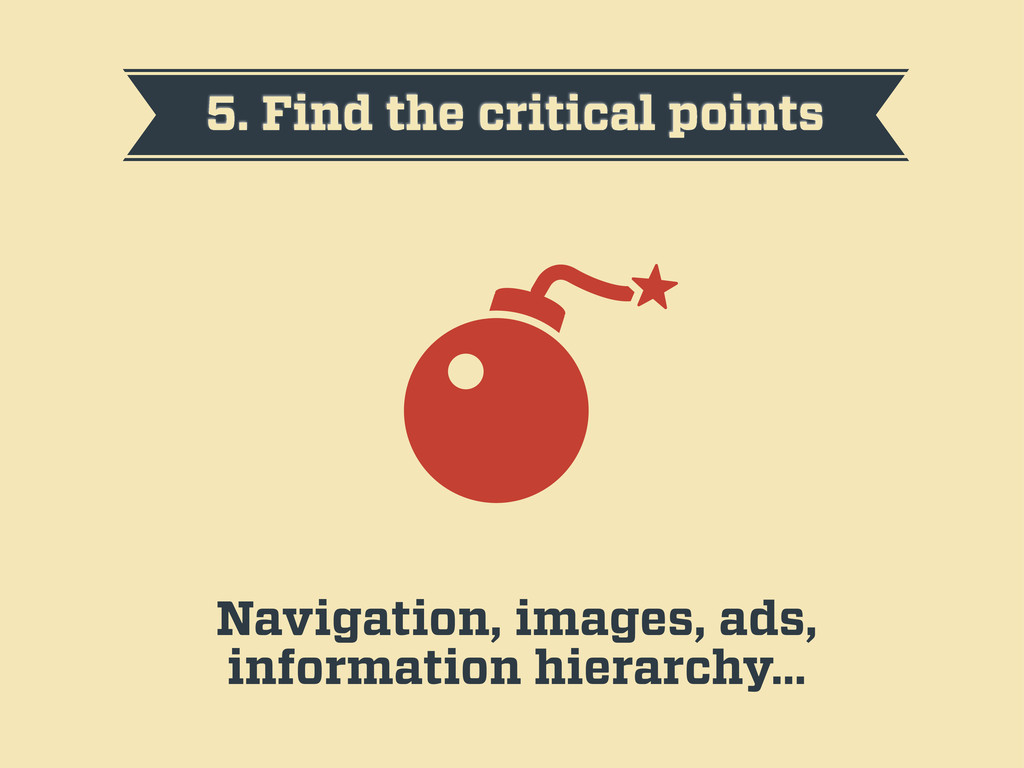 5. Find the critical points Navigation, images,...