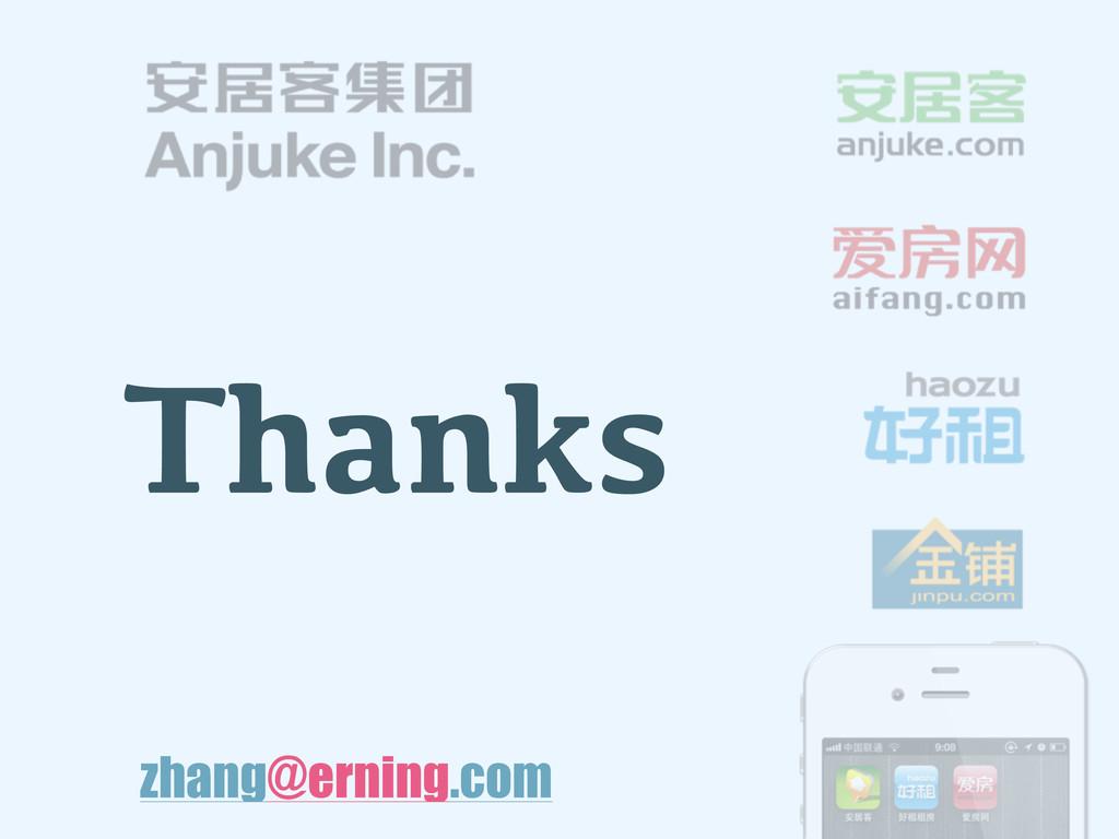 Thanks zhang@erning.com