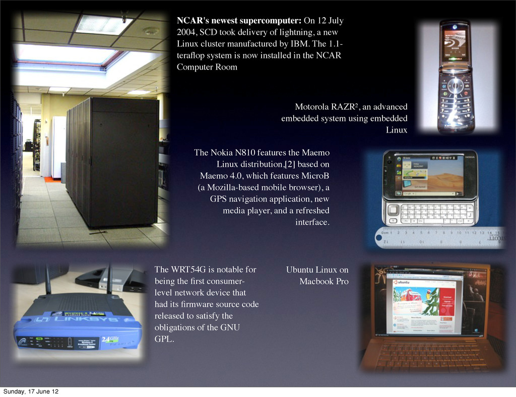 NCAR's newest supercomputer: On 12 July 2004, S...