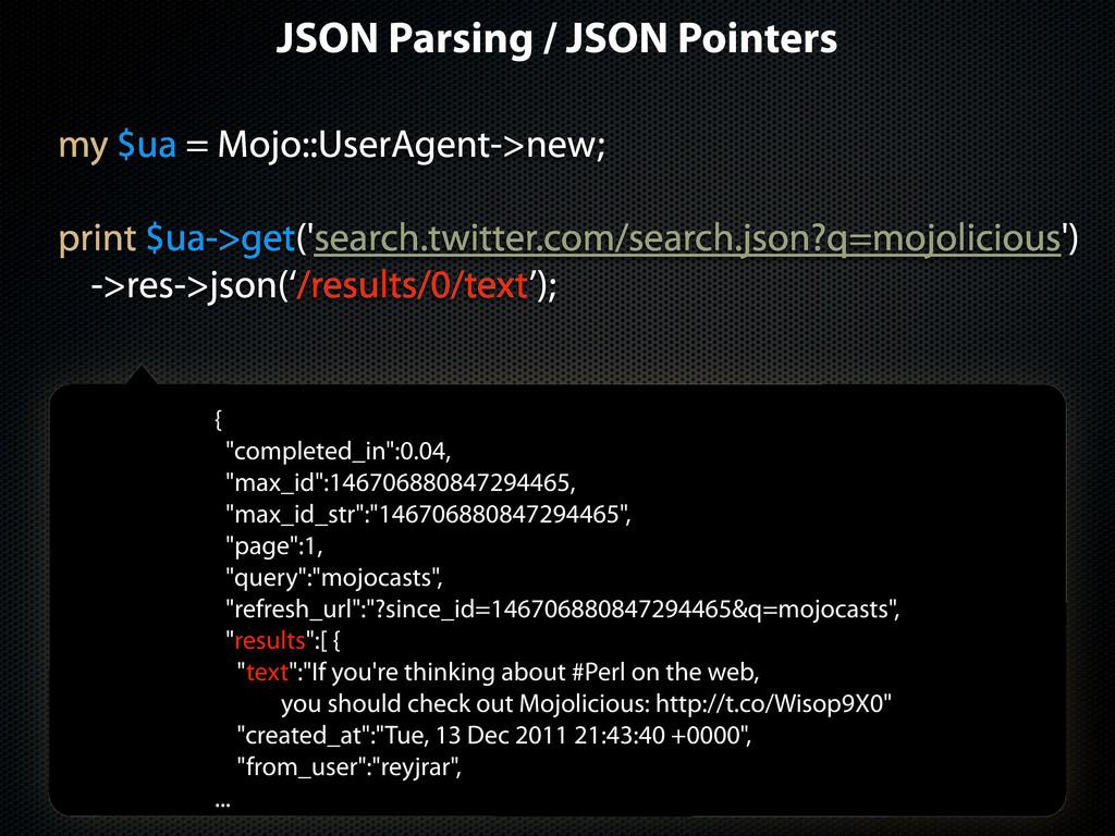 my $ua = Mojo::UserAgent->new; print $ua->get('...