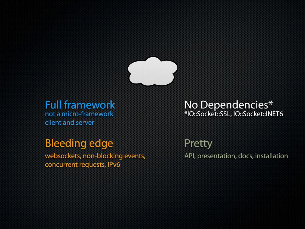 No Dependencies* Full framework Pretty not a mi...