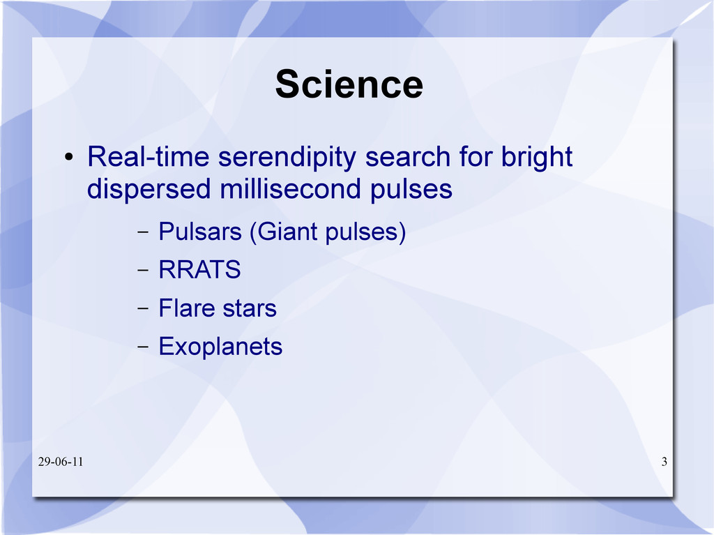 29-06-11 3 Science ● Real-time serendipity sear...
