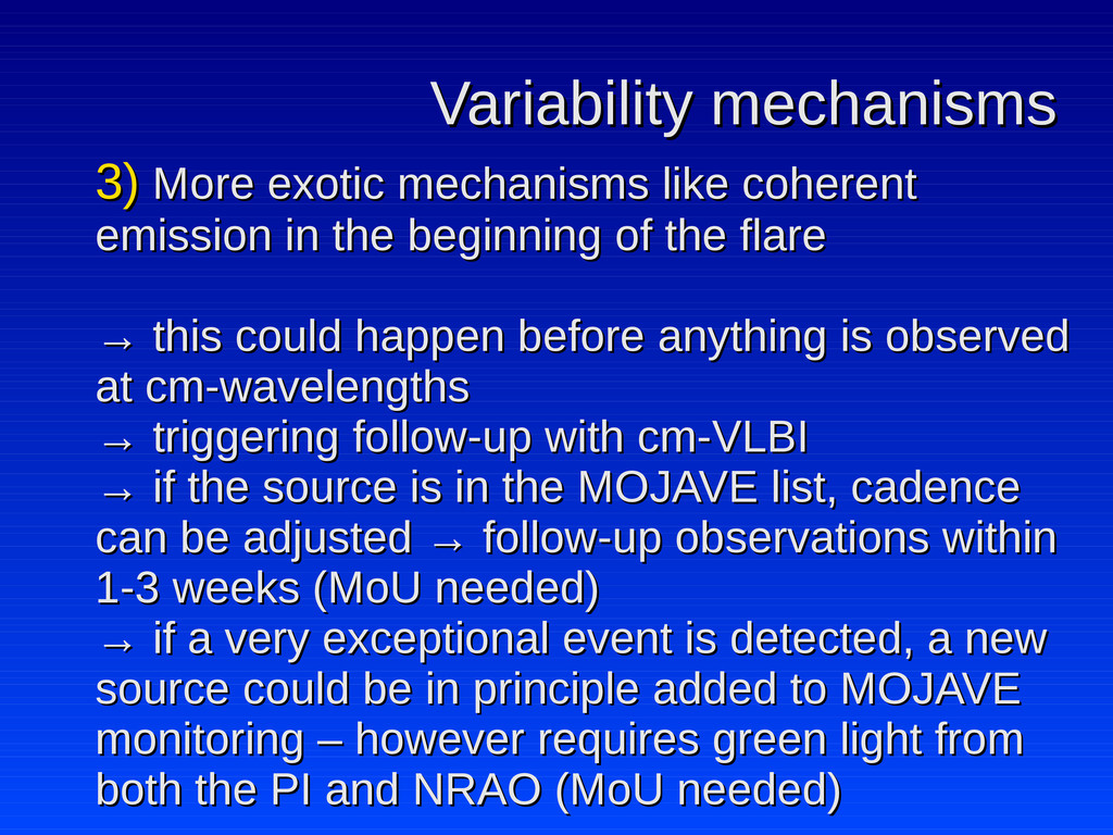 Variability mechanisms Variability mechanisms 3...