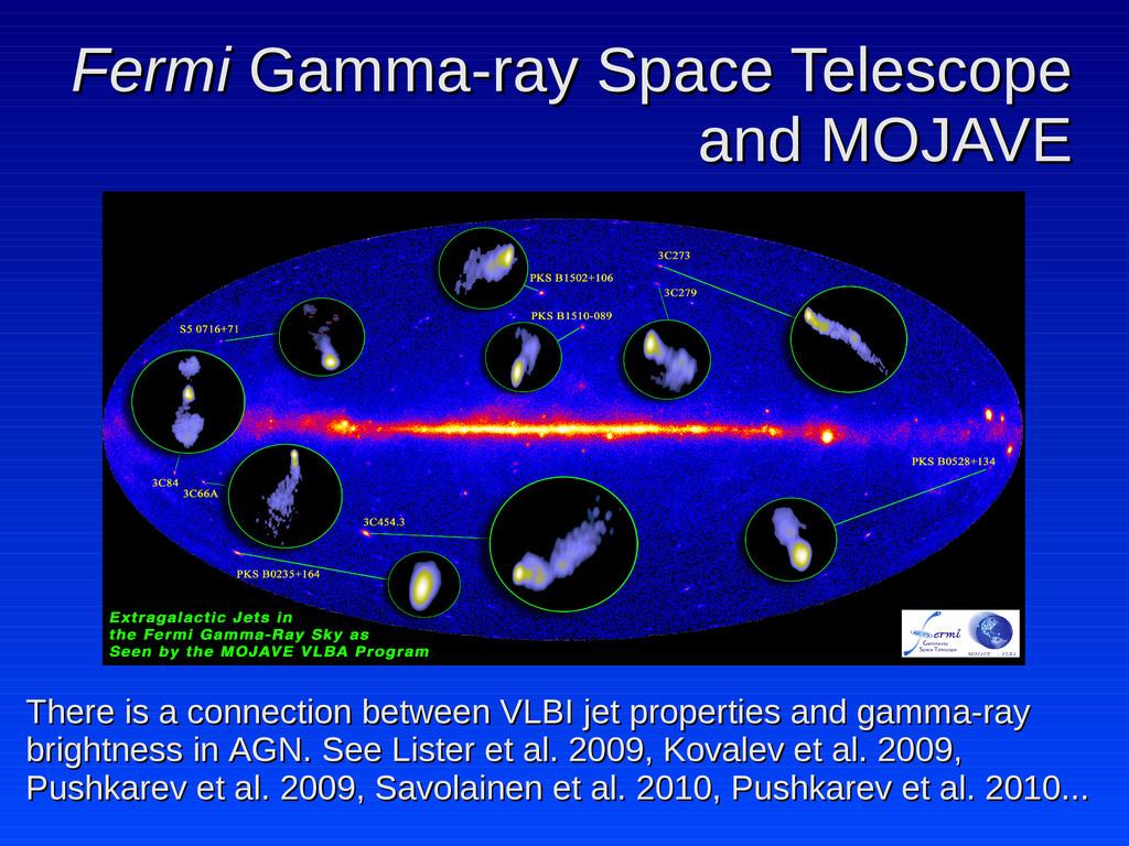 Fermi Fermi Gamma-ray Space Telescope Gamma-ray...