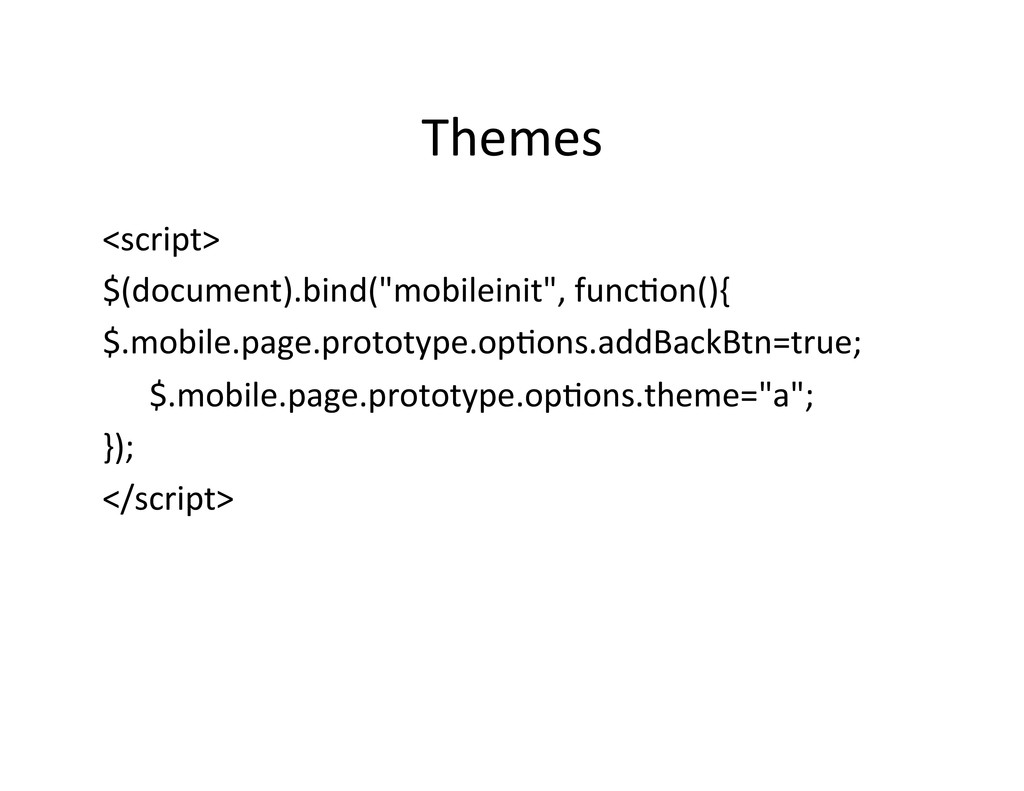 Themes	