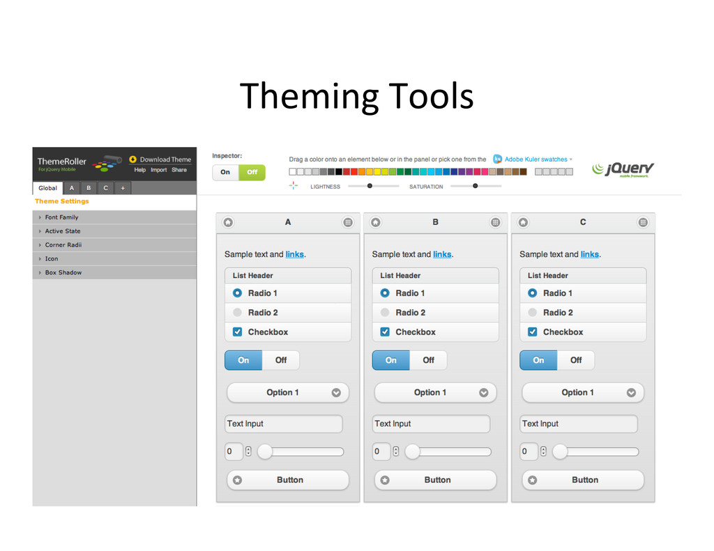 Theming Tools