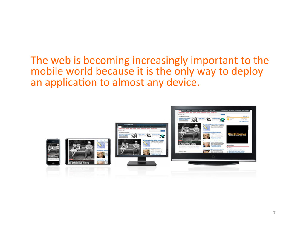 The web is becoming increasingly ...