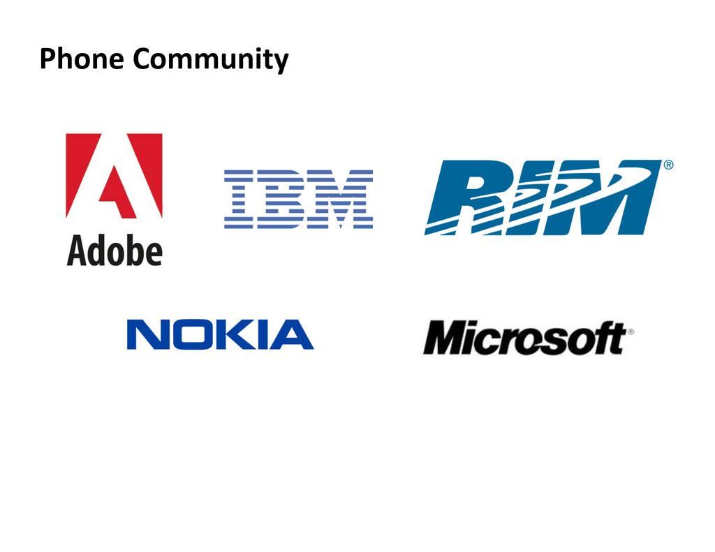 Phone Community
