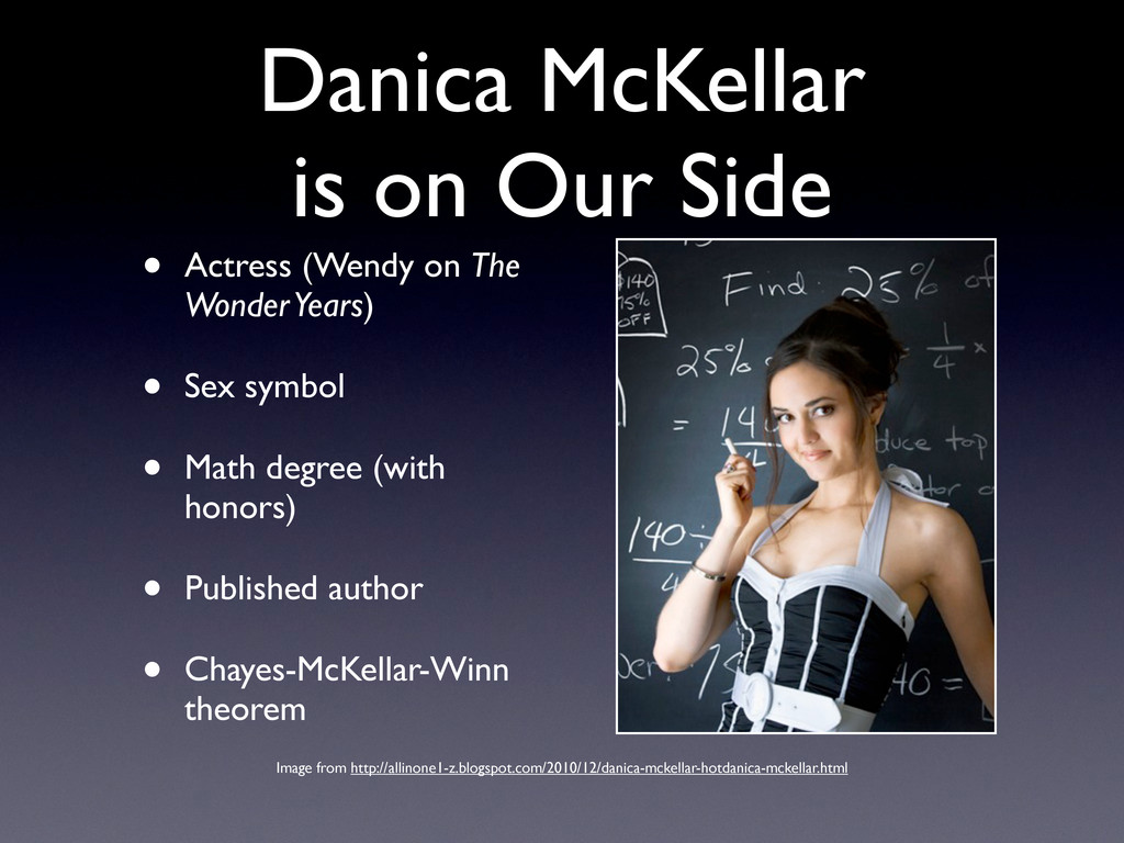 Danica McKellar is on Our Side • Actress (Wendy...