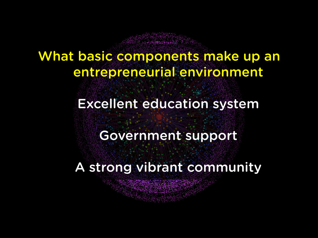 What basic components make up an entrepreneuria...