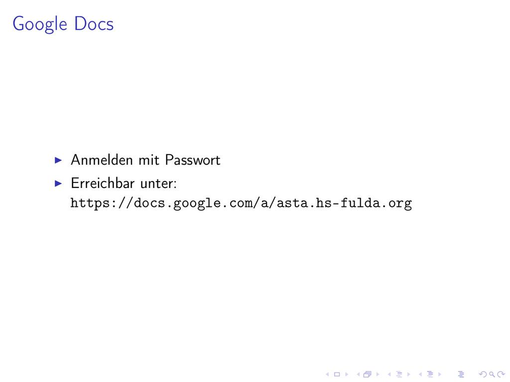 Google Docs Anmelden mit Passwort Erreichbar un...