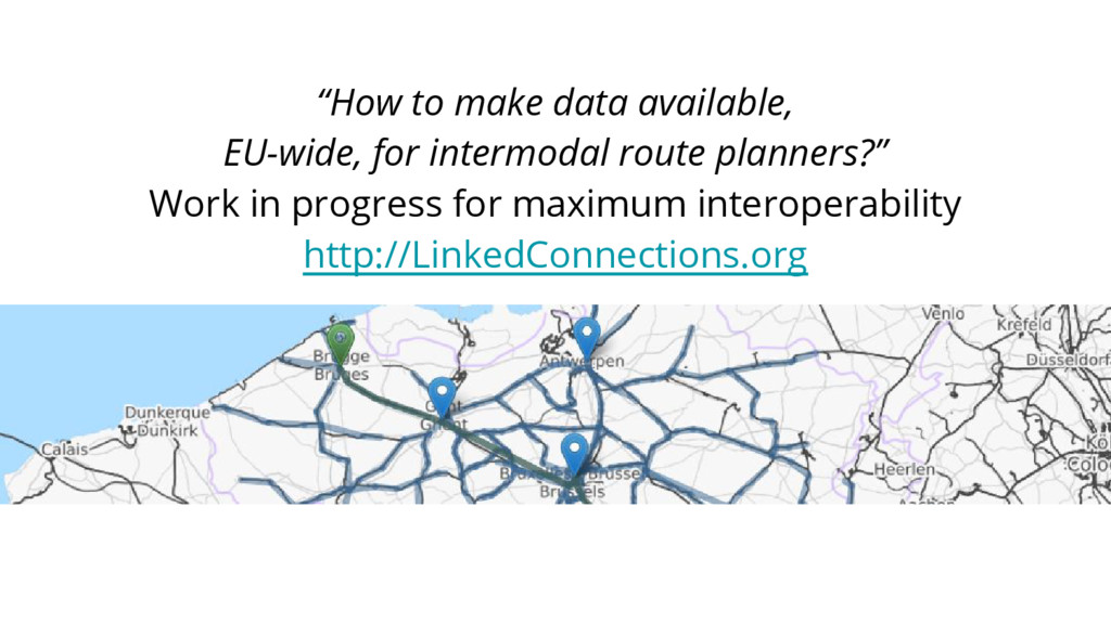 """""""How to make data available, EU-wide, for inter..."""