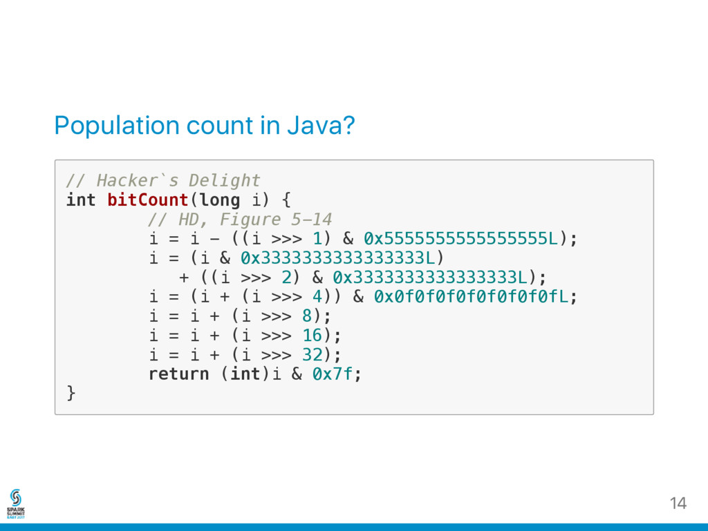 Population count in Java? / / H a c k e r ` s D...